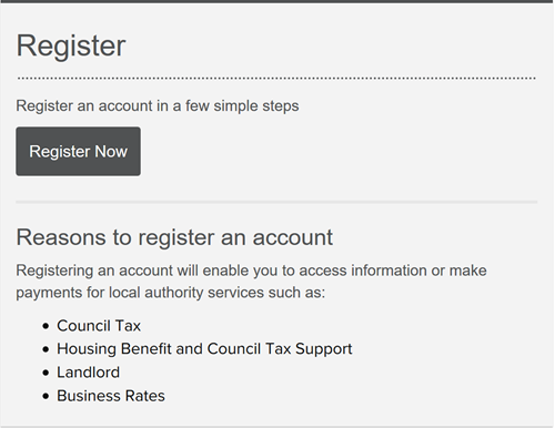 "section of the website for registration, showing a large ""register"" button"