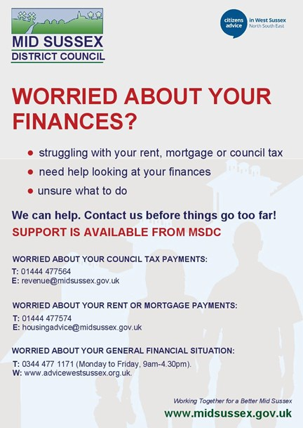 Worried About Your Finances